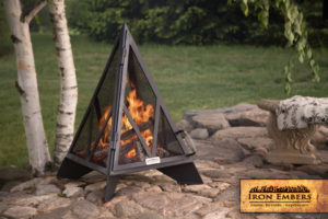 Iron Embers 3 foot pyramid